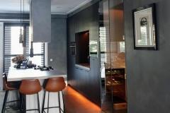keuken blauw betonlook pidgeon-grey