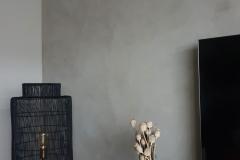 Marrakech walls pebble stone, grijs, woonkamer, woonkamermuur