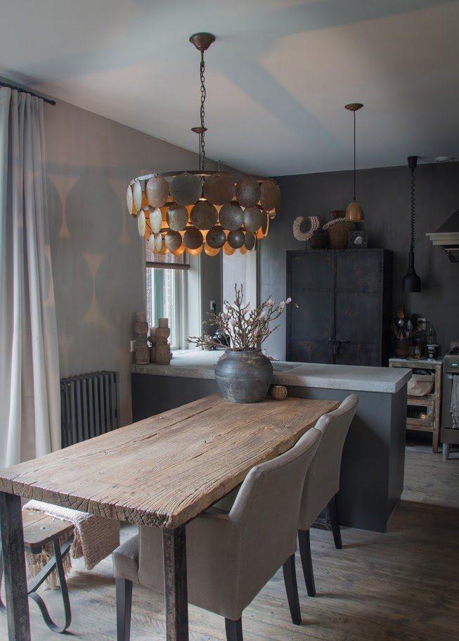 keuken achterwand, tin, grijs, zwart