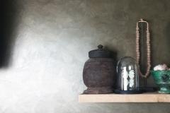 Metallic-brons-keuken-achterwand-metallic-muur
